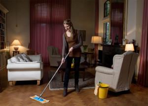 Huishoudelijke hulp van een hulpstudent