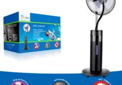 Progenion luchtreinigers ventilator